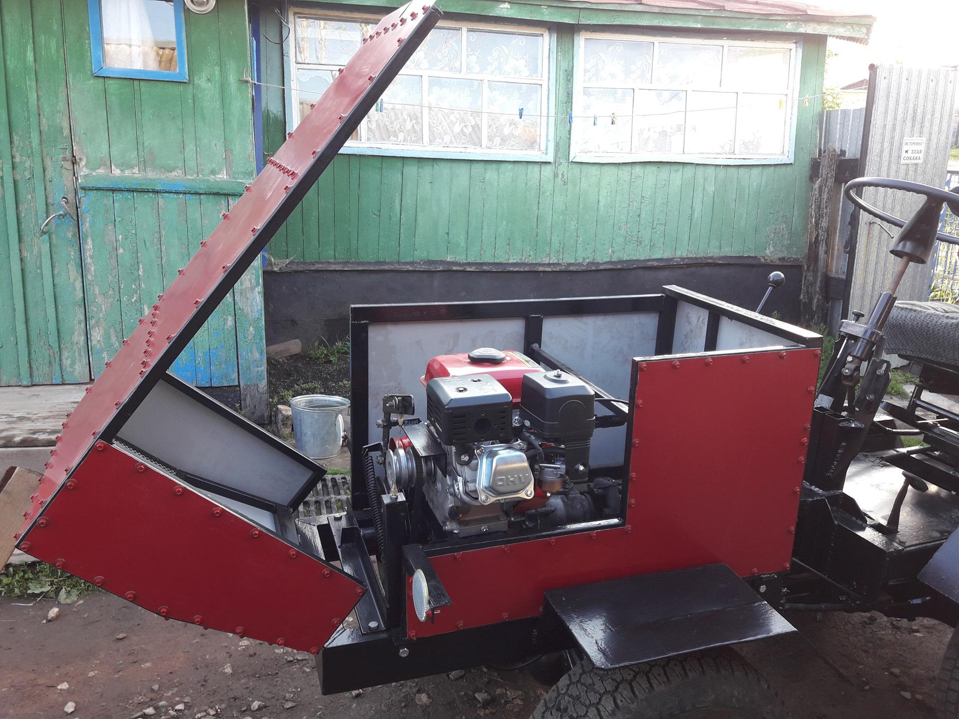 Самодельный тракторный капот фото