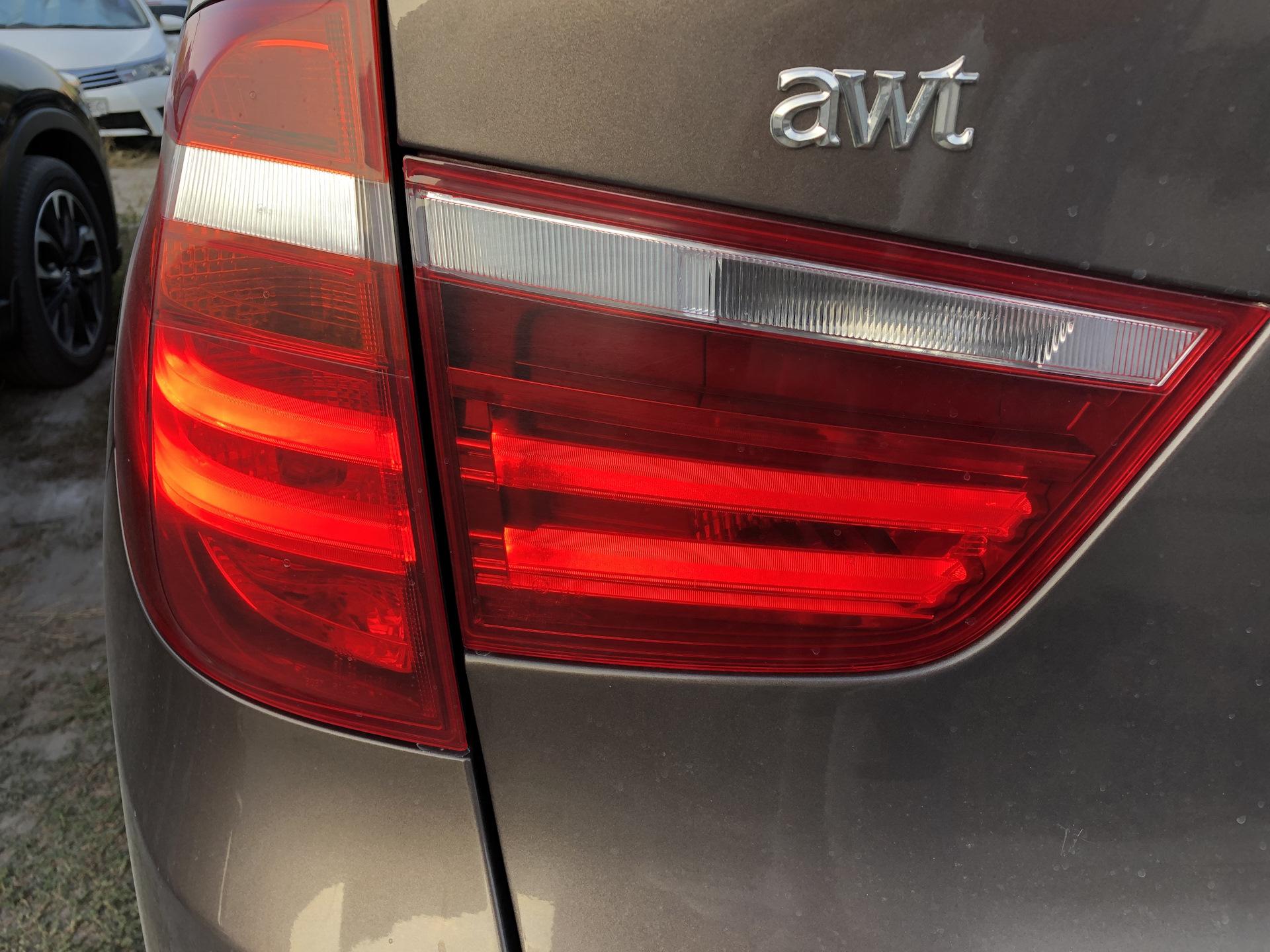 Плата драйвера габарита HPL для BMW F25