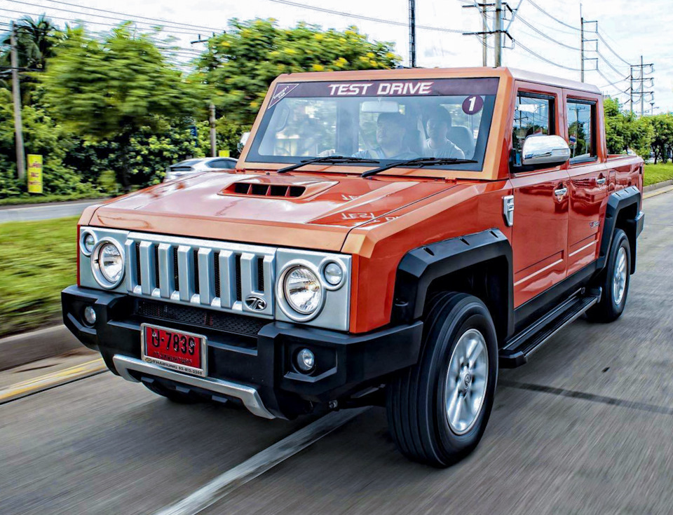 Thai Hummer licensed by Toyota