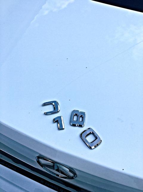 Бортжурнал Mercedes-Benz C-class C 180 CGI BlueEFFICIENCY