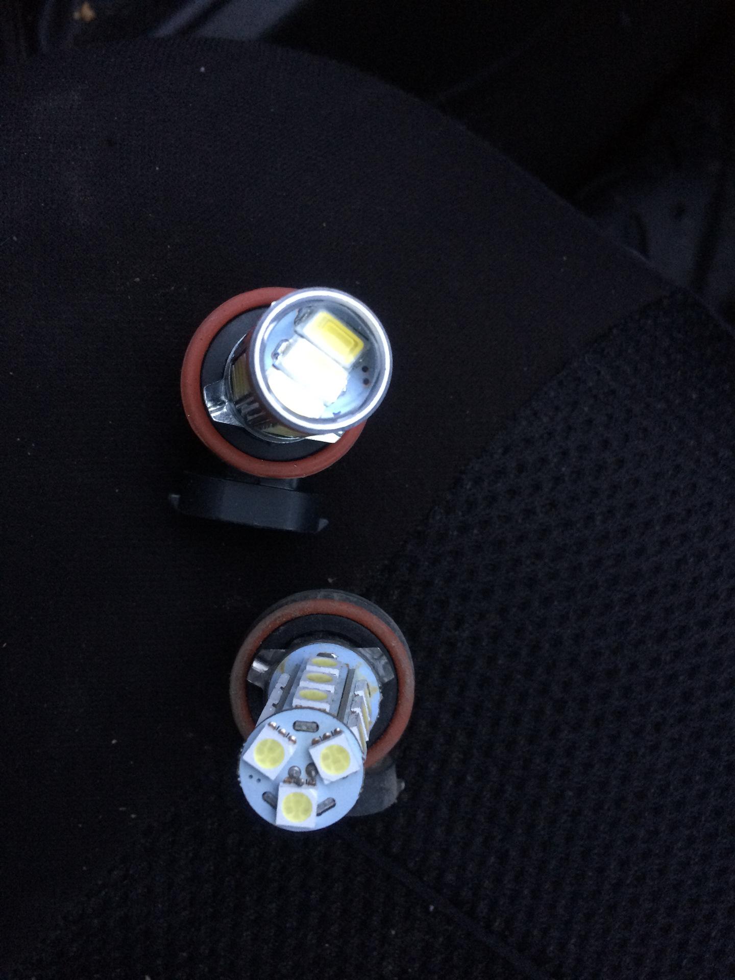 фото ламп на приору дальний свет для