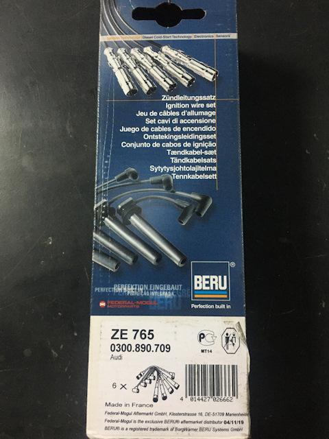 Beru zündleitungssatz ze765-ze765 cable de encendido