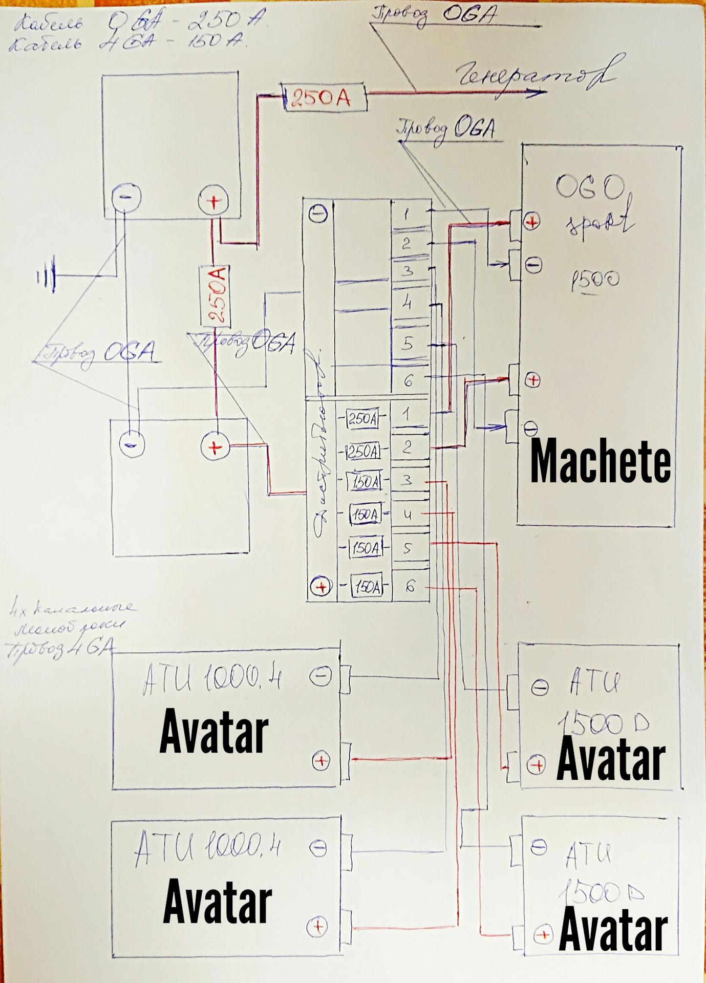 Схема подключения 2 аккумуляторов фото 608