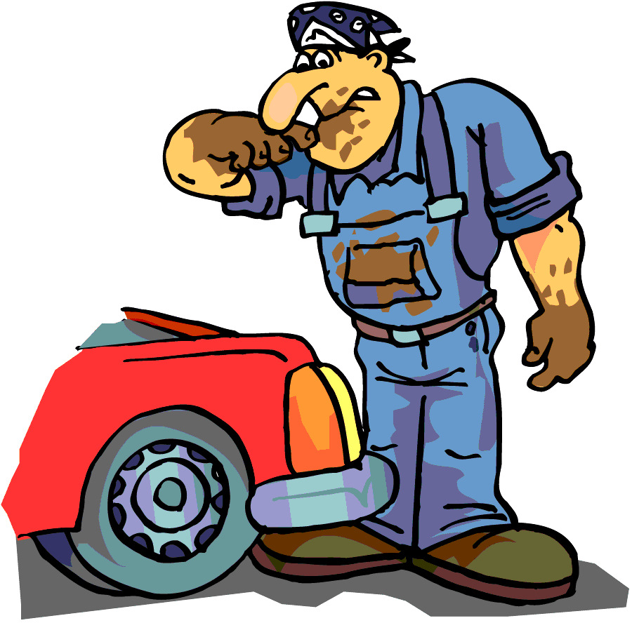 Открытка днем, смешные картинки по ремонту автомобилей