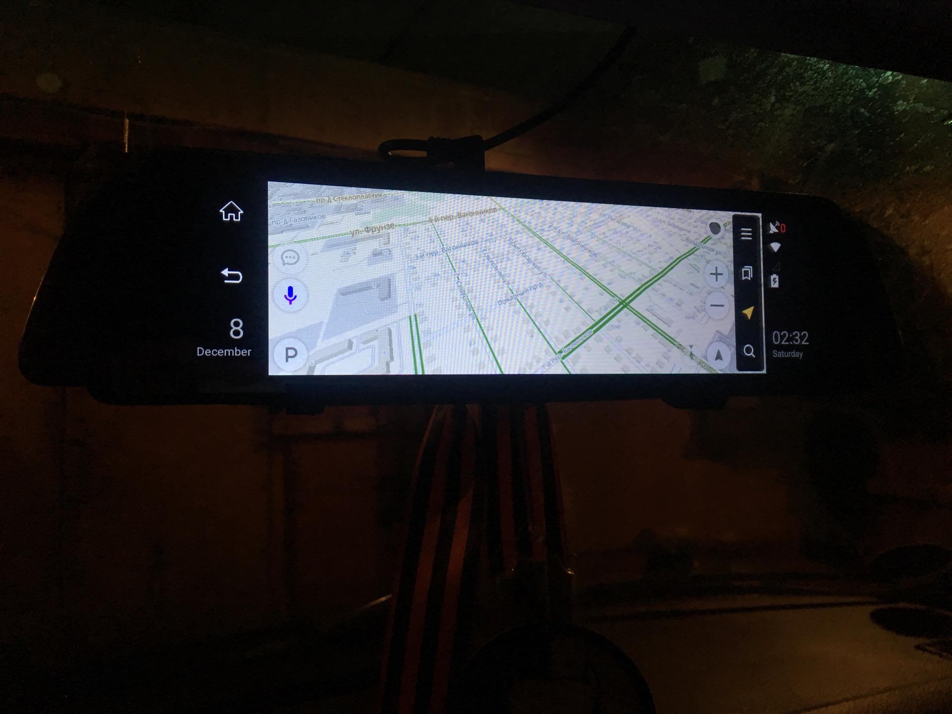 Зеркало-видеорегистратор AUTOECHO G07 в Ставрополе