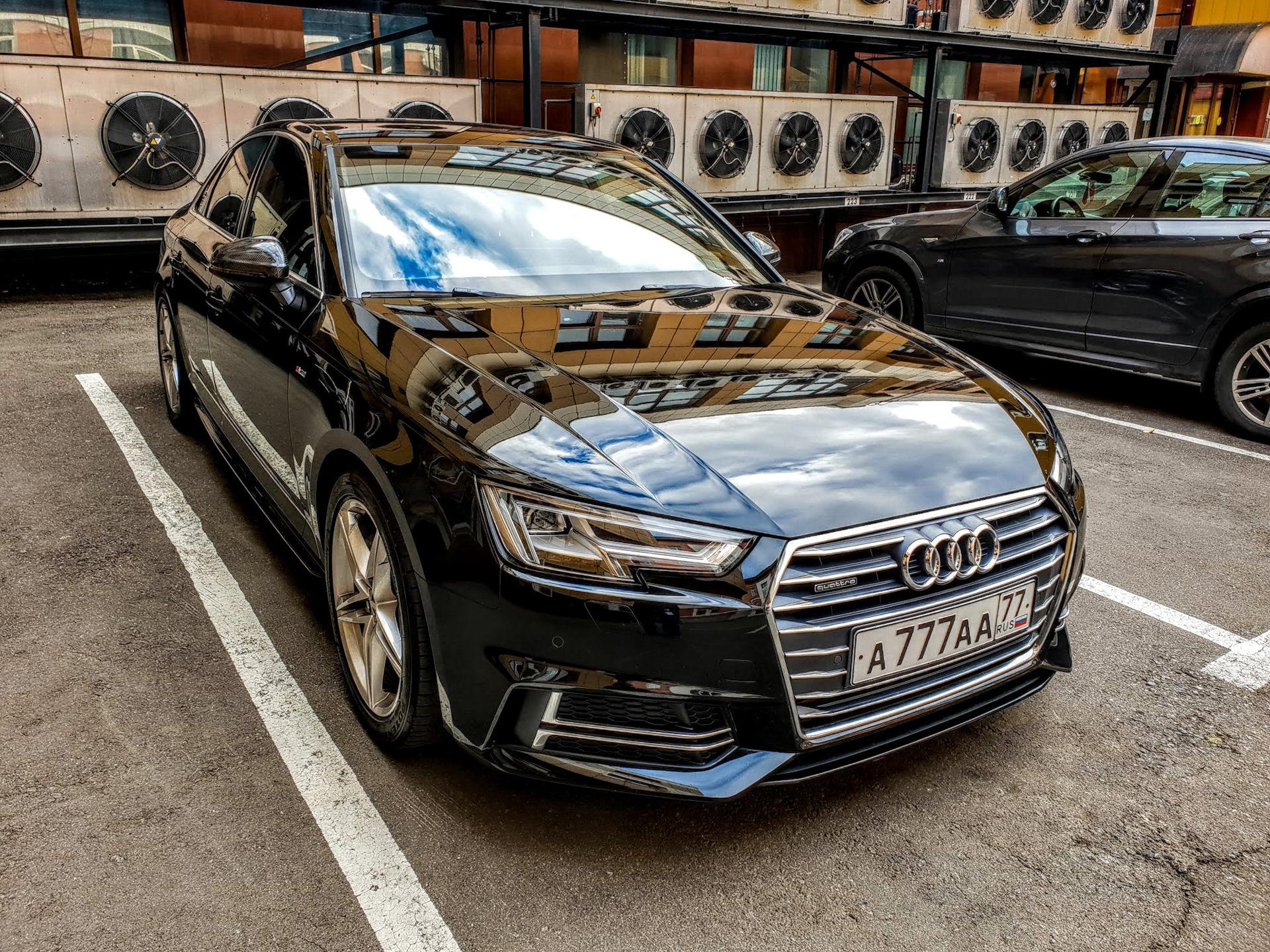 Замер 0-100 в +10С на REVO stage 1 — Audi A4, 2 0 л , 2017 года на