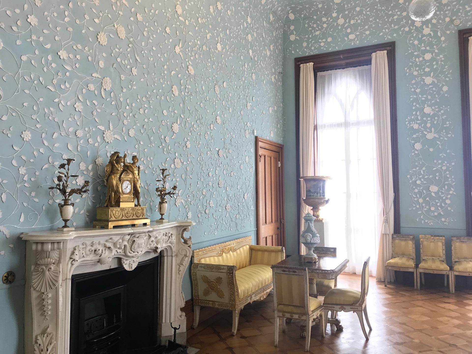 рассмотрели всего воронцовский дворец голубая комната фото создаётся полка, цвет